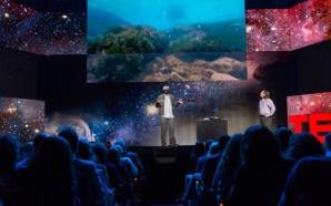 Jeremy Bailenson speaks at TED Talks Live - Science and Wonder, November 5-6, 2015, The Town Hall, New York, NY. Photo: Ryan Lash/TED
