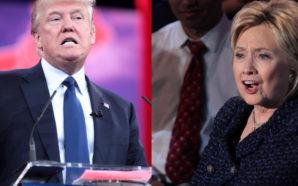 Photo Courtesy: Krassotkin (derivative), Gage Skidmore (Donald Trump), Gage Skidmore (Hillary Clinton)