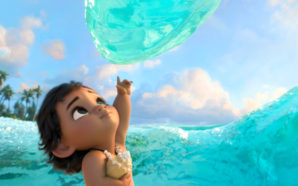 A young Moana meets the ocean, a very integral relationship in Walt Disney Animation Studios' Moana. Photo Courtesy: Walt Disney Animation Studios.