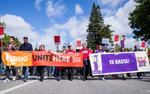 Silicon Valley Rising marches at Intel on March 27th, 2016. Photo Credit: Tri Nguyen/Working Partnerships USA