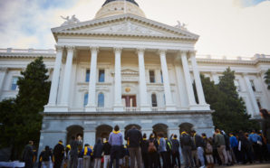 A National School Choice Week rally at the state capitol in Sacramento last year. Photo Credit: National School Choice Week