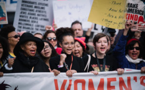 The Women's March, a day after President Trump's inauguration, channeled people's hope's worries, and strength to defend their rights. All Photos: Gabriel Nuanez