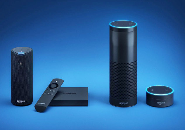 The Alexa family of intelligent voice assistant devices. Photo Credit: Amazon