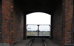 Photo Caption: Birkenau Main Gate. Photo Credit: Shelly Palmer
