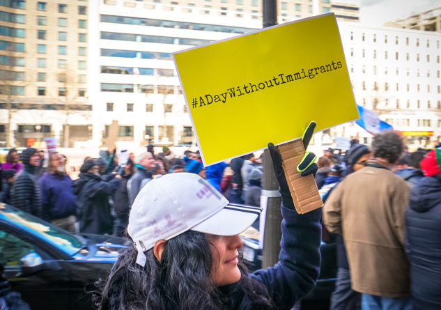 Photo Courtesy: Flickr.com/Ted Eytan 2017.02.16 A Day Without Immigrants, Washington, DC USA 00879