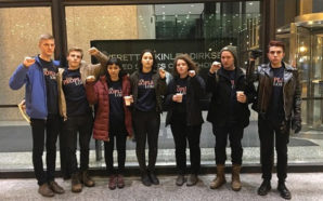 Seven students arrested in Chicago on Tuesday after a protest have been released from custody. Photo Credit: Resist Trump Tuesdays