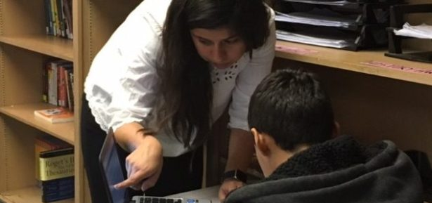Rosalinda Rocha, a sixth grade teacher at an Alpha Public School. Photo Credit: Alpha Public Schools
