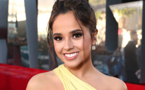"Actress and singer Becky G stars in the new ""Power Rangers"" as Trini, the Yellow Ranger. Photo Credit: GETTY IMAGES FOR LIONSGATE"