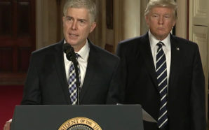 Environmentalists worry that Neil Gorsuch will be dismissive of advocacy groups and could cast the deciding vote against implementing the Clean Power Plan. Photo Credit: Wikipedia
