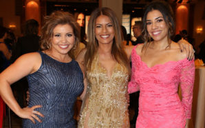 (L-R) Actresses Justina Machado, Lisa Vidal and Christina Vial attend the 20th Annual National Hispanic Media Coalition Impact Awards Gala at Regent Beverly Wilshire Hotel on February 24, 2017 in Beverly Hills, California. Photo Credit: JC Olivera/Getty Images for National Hispanic Media Coalition