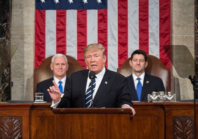 TRUMP ADDRESSES JOINT SESSION OF U.S. CONGRESS