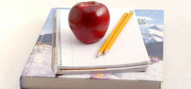 California educators say it'll take more than an apple a day to fight changes to immigration and education policies that are affecting public schools. Photo Credit: Jmiltenburg/morguefile