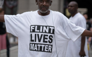 Some consider the lead contamination of the water supply of predominantly African-American Flint, Michigan to be an environmental justice issue. Photo Credit: Victoria Pickering, FlickrCC.
