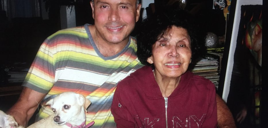 Mauricio Rivera and his mother, Daisy Samoza. Photo credit: Mauricio Rivera