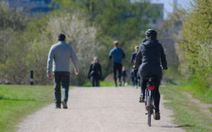 New research indicates there are more health-related positives than negatives when it comes to bicycling. Photo Credit: Virginia Carter