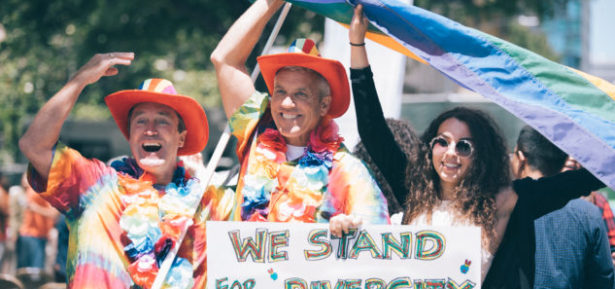 Pride Month celebrates the diversity of the LGBT communities of the world and has its roots in social movements in the 1960's. Photo Credit: Gabe Nuanez