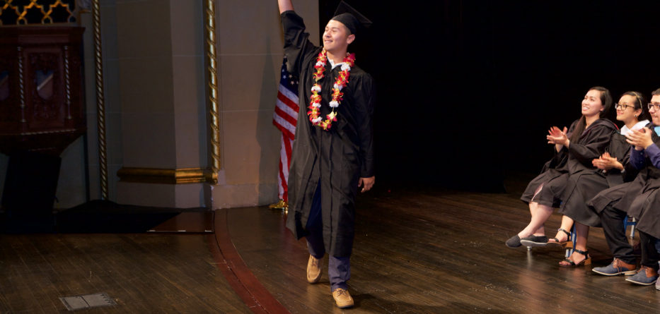 Elijah Santana-Peña, a graduate of Summit Schools, will be attending California State University at Monterey Bay. Photo Credit: Passion Art Photography