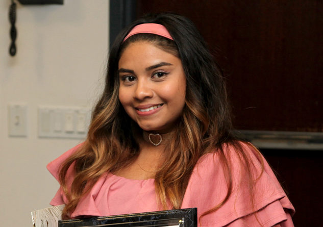 Lizbeth Galeana was one of the students honored on June 21st, 2017 by the Santa Clara County Board of Education. Photo Credit: SCCOE/Summer Reeves