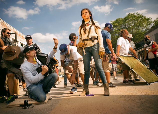 """Photo Caption: Isabela Moner in """"Transformers: The Last Knight"""". Photo Credit: Paramount Pictures"""