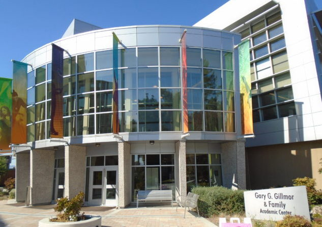 Gillmor Building at Mission College, where MECHS is housed. Photo Credit: Mission College