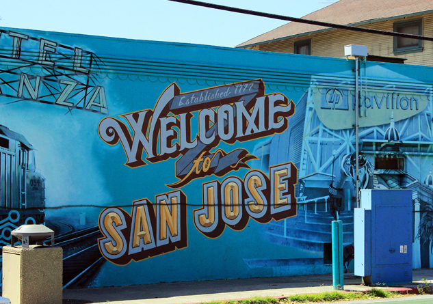 The popular welcome to san jose mural could disappear for El mural trailer