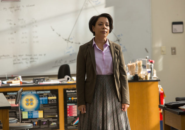Selenis Leyva stars as Ms. Warren in Spider-Man: Homecoming. Photo Credit: Sony Pictures