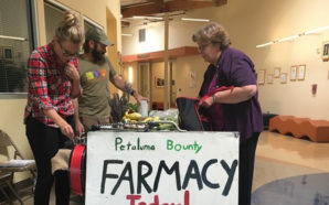 "The ""Farmacy"" at the Petaluma Health Center sells produce at deep discounts to low-income families as part of its mission to encourage better health. Photo Credit: Petaluma Health Center"
