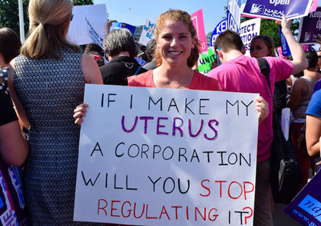 Critics say the Graham-Cassidy bill would have severely restricted reproductive rights. Photo Credit: Jordan Uhl, Flickr