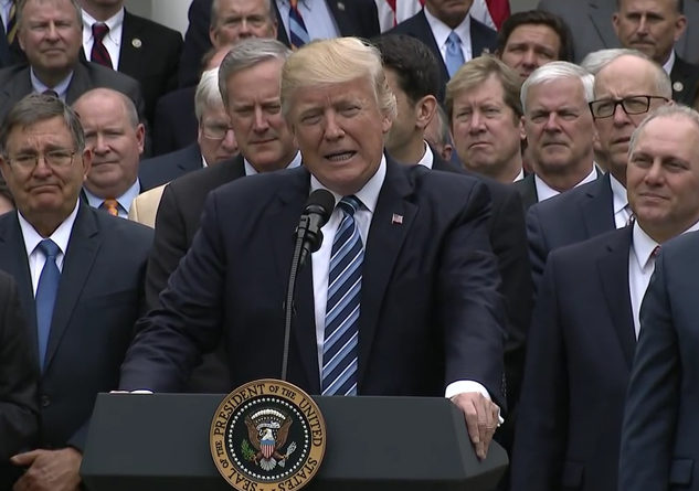 The Republican Party is trying to push sweeping tax reform, but is it good for everyone? Photo Credit: wikipedia.org