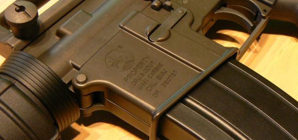 Photo Caption: An M4A1 Automatic Rifle. Photo Credit: Pixabay