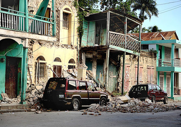 Most of the Haitians who are about to lose Temporary Protected Status came to the U.S. legally after the 2010 earthquake, and say they have little to return to. Photo Credit: Master Sgt. Jeremy Lock/US Air Force