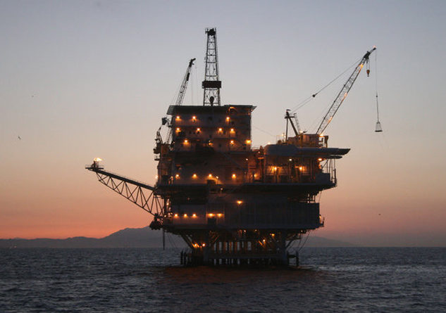 California could see more drilling rigs such as the Gail off of Santa Barbara in coming years, now that the feds are planning to reopen 98 percent of federal waters to drilling. Photo Credit: BOEM-OPA
