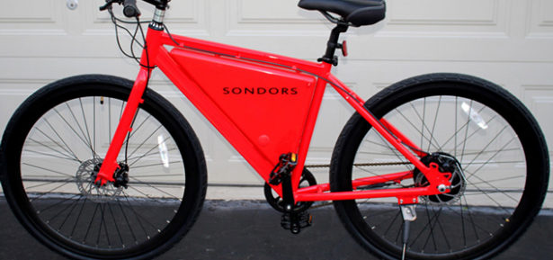 If you factor in the carbon emissions associated with producing and delivering the extra food required to feed a rider of a conventional bicycle, charging up an e-bike from your grid-based electrical outlet may be better for the environment. Photo Credit: Joe Haupt, FlickrCC.