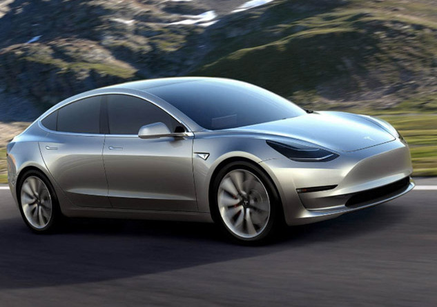 Tesla S Sporty New All Electric Model 3 Can Go 215 Miles Per Charge And Will Cost Consumers Less Than 30k After Federal Tax Rebates When It Rolls Off